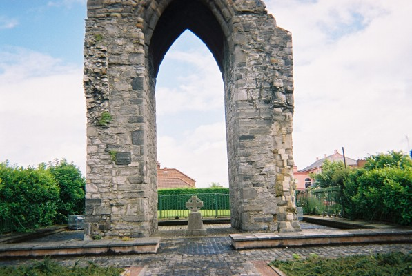 The archway of the Magdelene Tower.